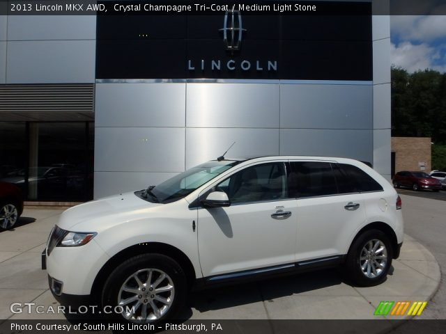 2013 Lincoln MKX AWD in Crystal Champagne Tri-Coat