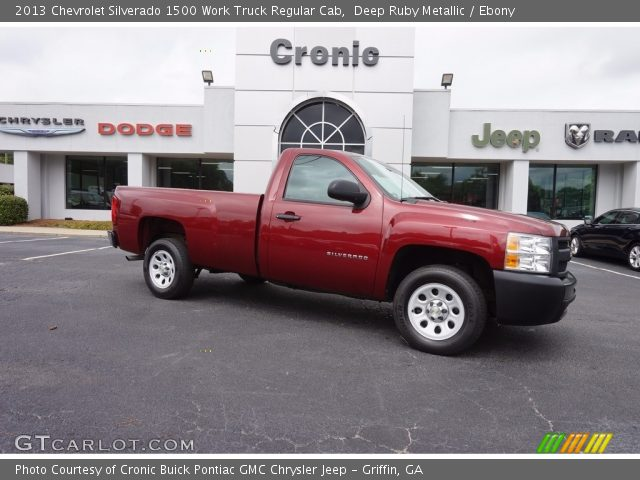 2013 Chevrolet Silverado 1500 Work Truck Regular Cab in Deep Ruby Metallic
