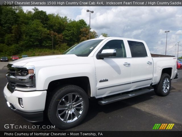 2017 Chevrolet Silverado 1500 High Country Crew Cab 4x4 in Iridescent Pearl Tricoat