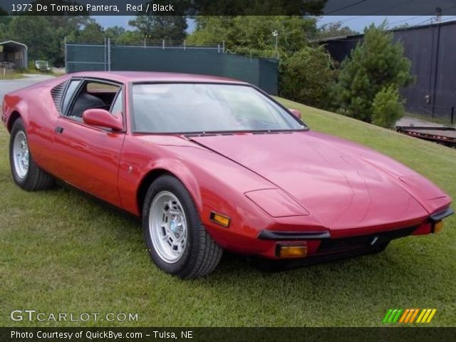 1972 De Tomaso Pantera  in Red