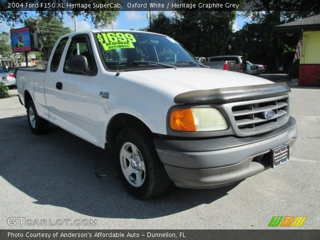 2004 Ford F150 XL Heritage SuperCab in Oxford White