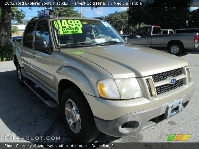 Harvest gold metallic 2003 ford explorer sport trac xls - Ford explorer sport trac interior ...