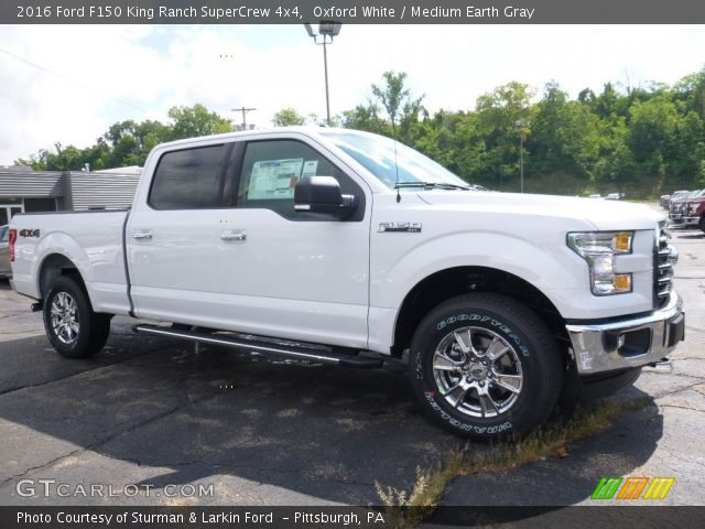 2016 Ford F150 King Ranch SuperCrew 4x4 in Oxford White