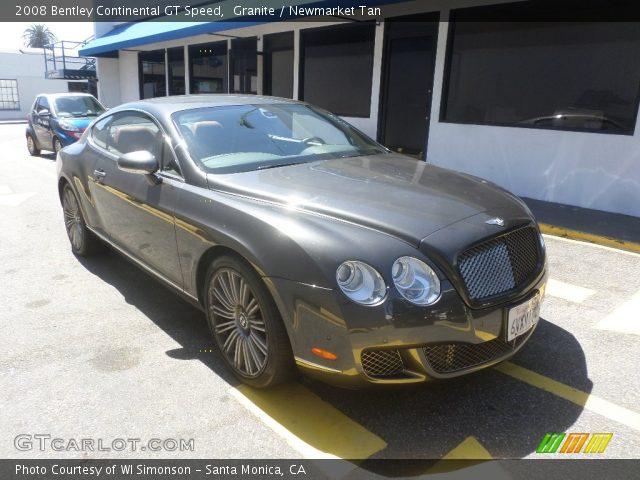 2008 Bentley Continental GT Speed in Granite