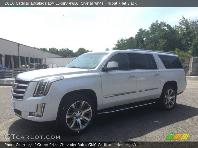 2016 Cadillac Escalade ESV Luxury 4WD in Crystal White Tricoat