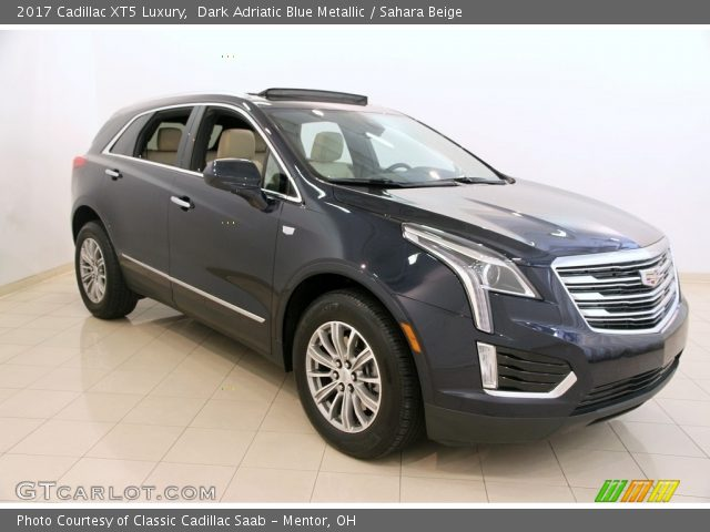 2017 Cadillac XT5 Luxury in Dark Adriatic Blue Metallic