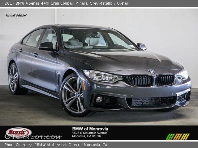 2017 BMW 4 Series 440i Gran Coupe In Mineral Grey Metallic