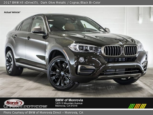 2017 BMW X6 XDrive35i In Dark Olive Metallic