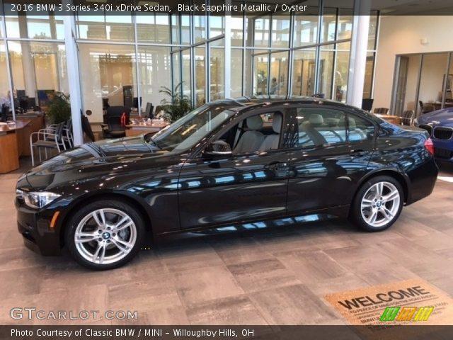2016 BMW 3 Series 340i xDrive Sedan in Black Sapphire Metallic