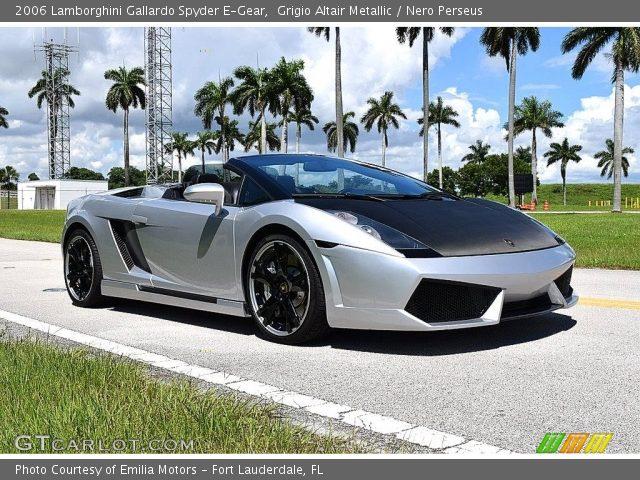 2006 Lamborghini Gallardo Spyder E-Gear in Grigio Altair Metallic