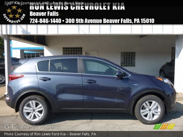 2017 Kia Sportage LX AWD in Pacific Blue