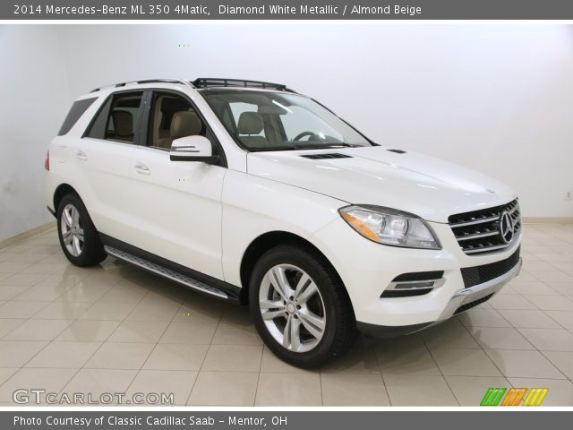 2014 Mercedes-Benz ML 350 4Matic in Diamond White Metallic