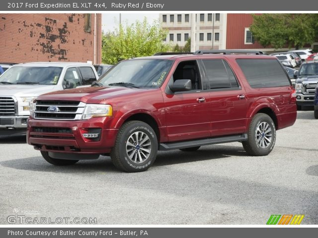 Ruby Red 2017 Ford Expedition El Xlt 4x4 Ebony Interior Vehicle Archive