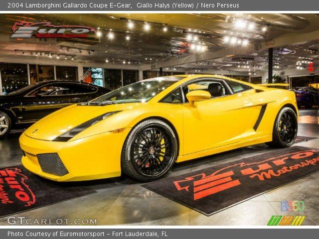 2004 Lamborghini Gallardo Coupe E-Gear in Giallo Halys (Yellow)