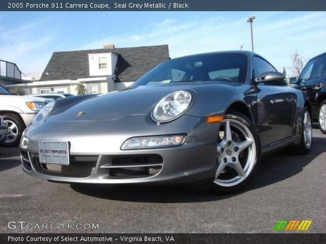 2005 Porsche 911 Carrera Coupe in Seal Grey Metallic