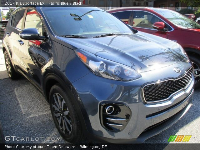 2017 Kia Sportage EX in Pacific Blue