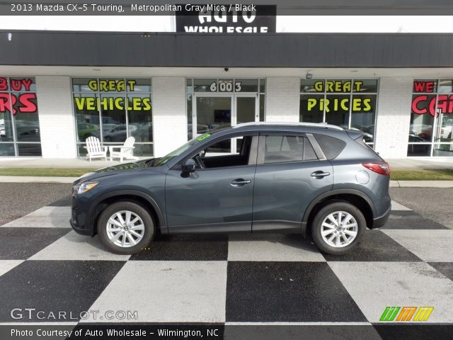 2013 Mazda CX-5 Touring in Metropolitan Gray Mica