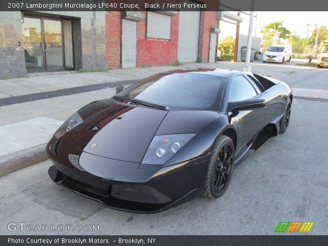 2007 Lamborghini Murcielago LP640 Coupe in Black