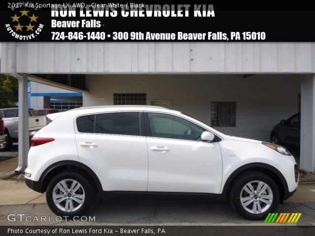 2017 Kia Sportage LX AWD in Clear White