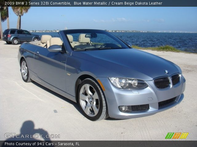 2009 BMW 3 Series 328i Convertible in Blue Water Metallic