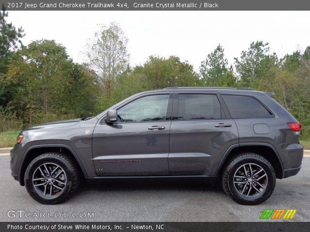 Granite Crystal Metallic 2017 Jeep Grand Cherokee Trailhawk 4x4
