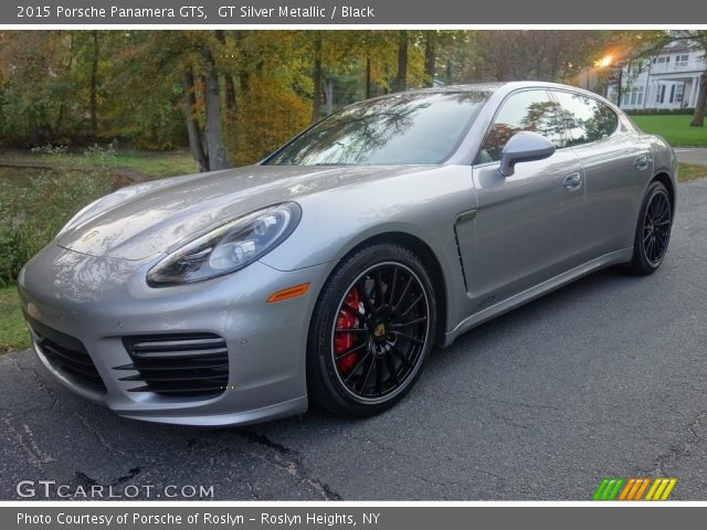 2015 Porsche Panamera GTS in GT Silver Metallic