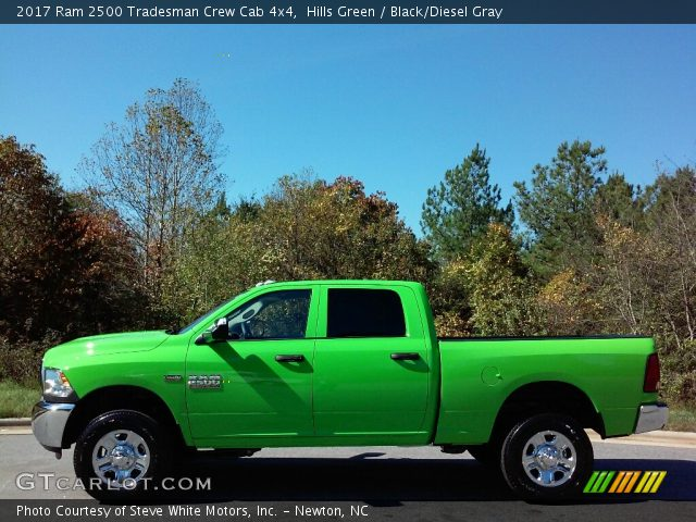 hills green 2017 ram 2500 tradesman crew cab 4x4 black diesel gray interior. Black Bedroom Furniture Sets. Home Design Ideas