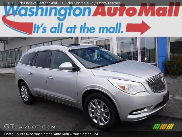 2013 Buick Enclave Leather AWD in Quicksilver Metallic