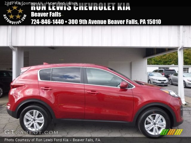 2017 Kia Sportage LX in Hyper Red