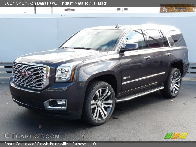 2017 GMC Yukon Denali 4WD in Iridium Metallic