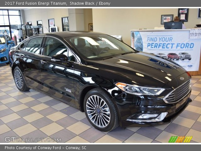 shadow black 2017 ford fusion energi titanium ebony interior vehicle. Black Bedroom Furniture Sets. Home Design Ideas