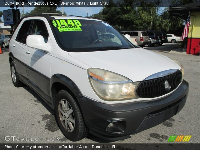 2004 Buick Rendezvous CXL in Olympic White
