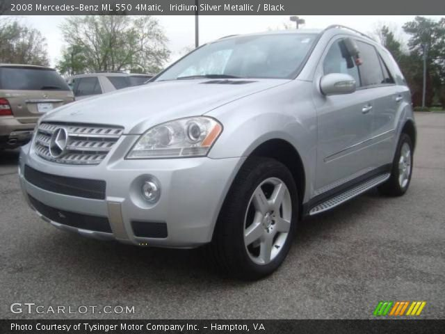 Iridium silver metallic 2008 mercedes benz ml 550 4matic for 2008 mercedes benz ml550 4matic