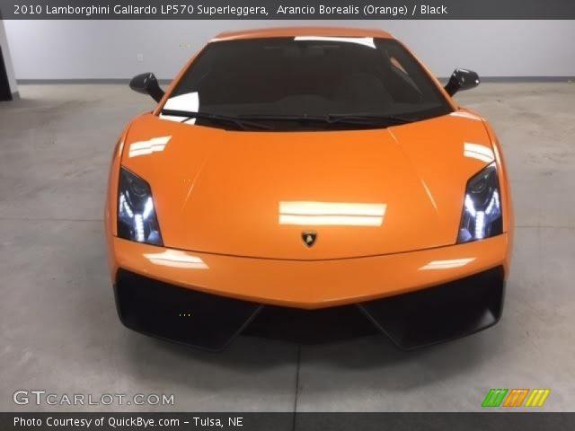 2010 Lamborghini Gallardo LP570 Superleggera in Arancio Borealis (Orange)
