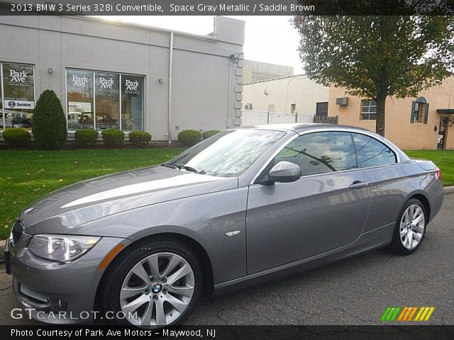 2013 BMW 3 Series 328i Convertible in Space Gray Metallic