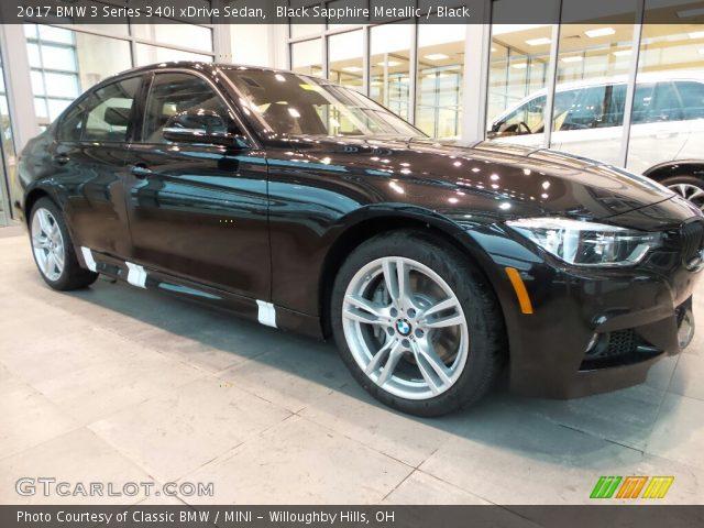 2017 BMW 3 Series 340i xDrive Sedan in Black Sapphire Metallic