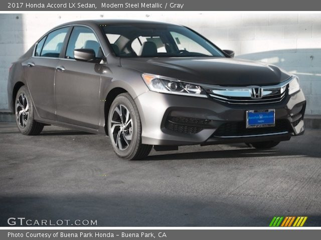 modern steel metallic 2017 honda accord lx sedan gray interior vehicle. Black Bedroom Furniture Sets. Home Design Ideas