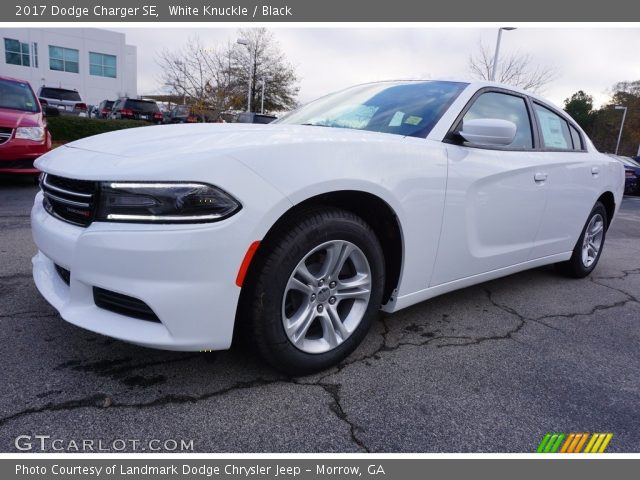 White Knuckle - 2017 Dodge Charger SE - Black Interior ...