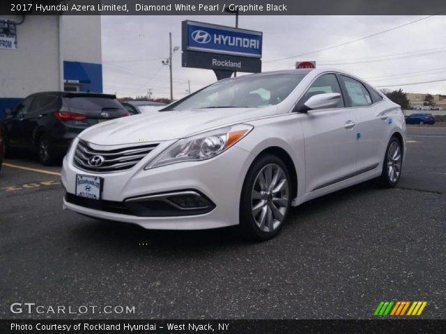 2017 Hyundai Azera Limited in Diamond White Pearl