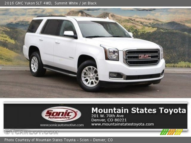 2016 GMC Yukon SLT 4WD in Summit White