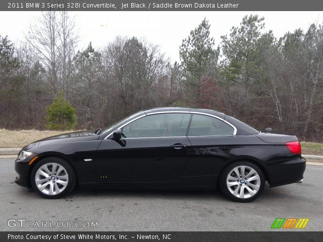 2011 BMW 3 Series 328i Convertible in Jet Black