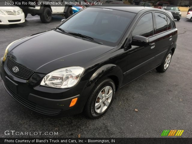 2009 Kia Rio Rio5 LX Hatchback in Midnight Black