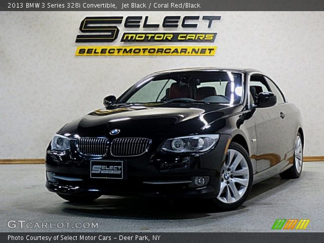 2013 BMW 3 Series 328i Convertible in Jet Black