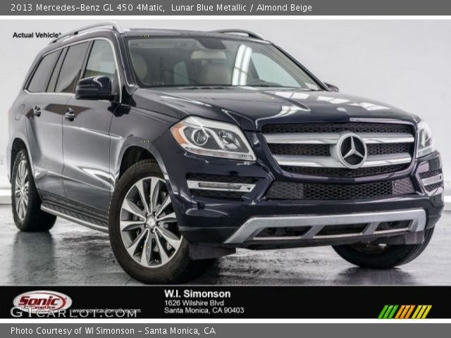 2013 Mercedes-Benz GL 450 4Matic in Lunar Blue Metallic