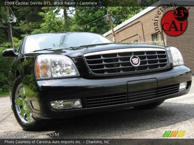 Black Raven 2004 Cadillac Deville Dts Cashmere Interior Vehicle Archive