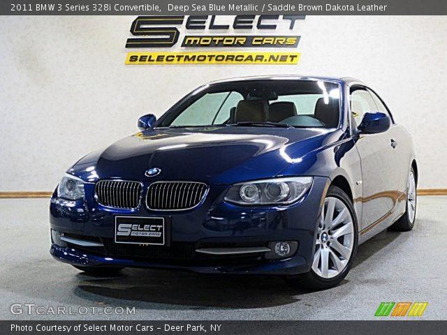 2011 BMW 3 Series 328i Convertible in Deep Sea Blue Metallic