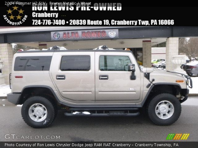 2004 Hummer H2 SUV in Pewter Metallic