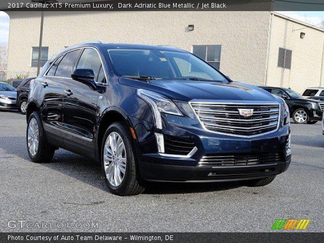 2017 Cadillac XT5 Premium Luxury in Dark Adriatic Blue Metallic