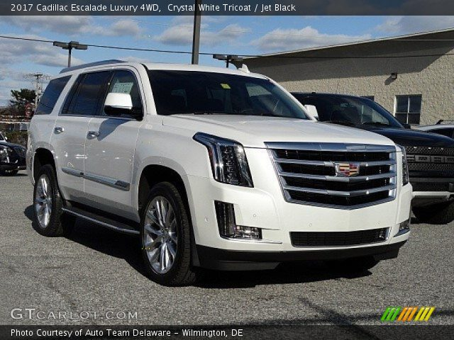 Crystal White Tricoat - 2017 Cadillac Escalade Luxury 4WD ...