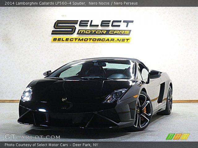 2014 Lamborghini Gallardo LP560-4 Spyder in Nero Noctis